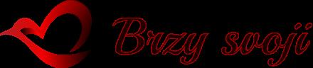 Logo svatební stránky Brzy-svoji.cz